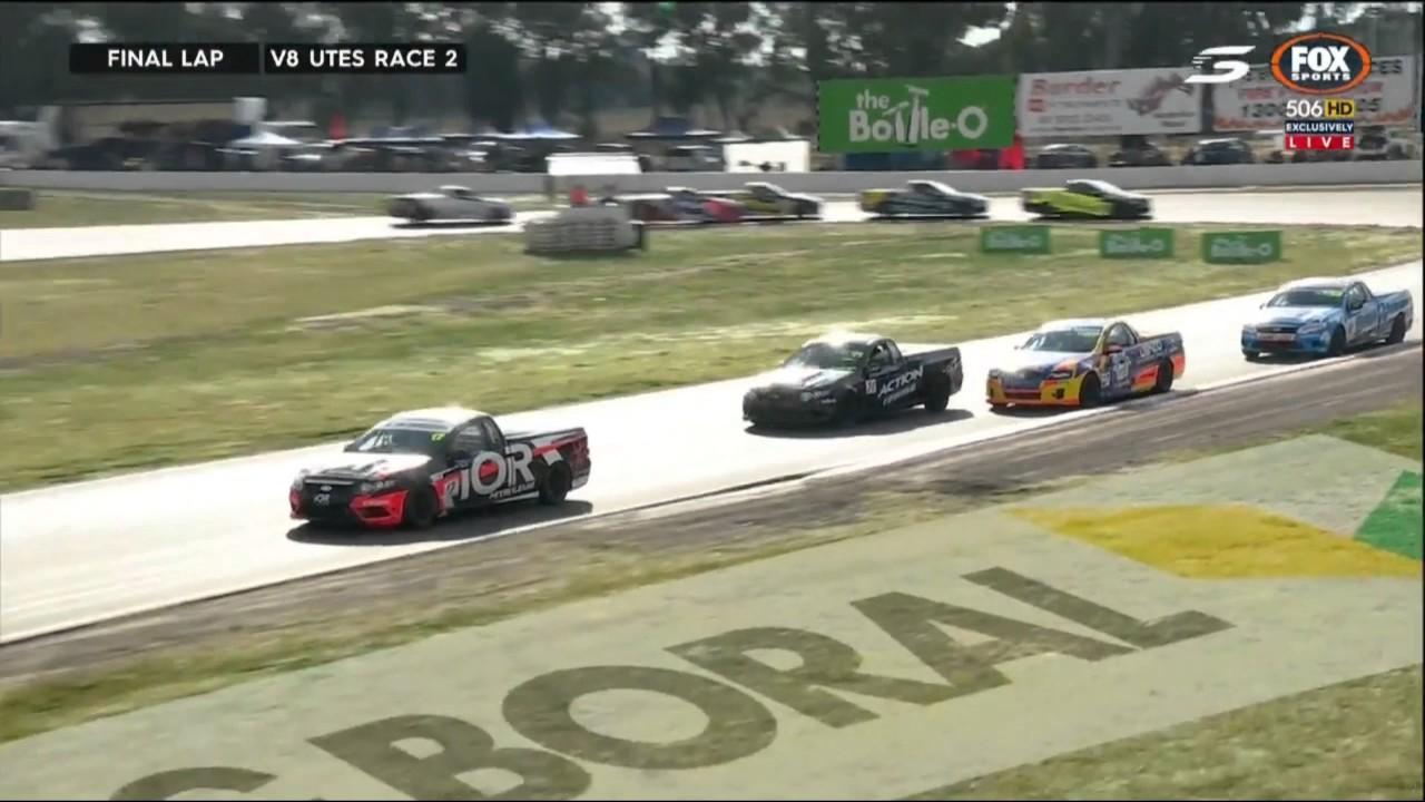 Australian Ute Racing Series Race Winton Motor Raceway