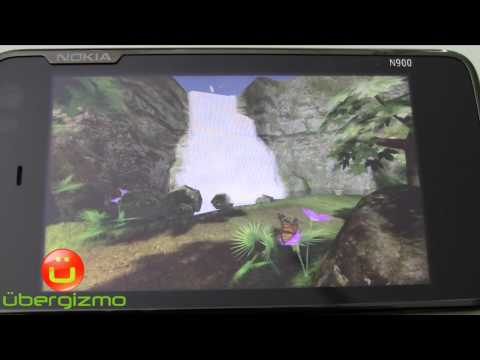 N900 3D Graphics Bounce Evolution