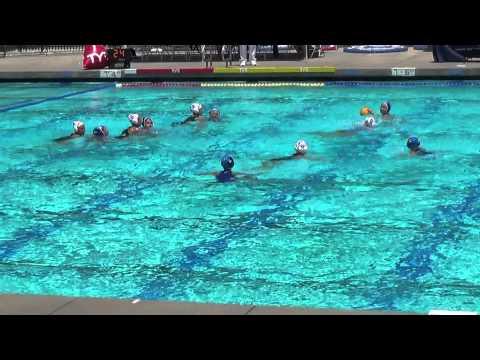 Santa Barbara vs Diablo 12u Girls USA Water Polo Junior Olympics Gold Medal game 8/4/2013