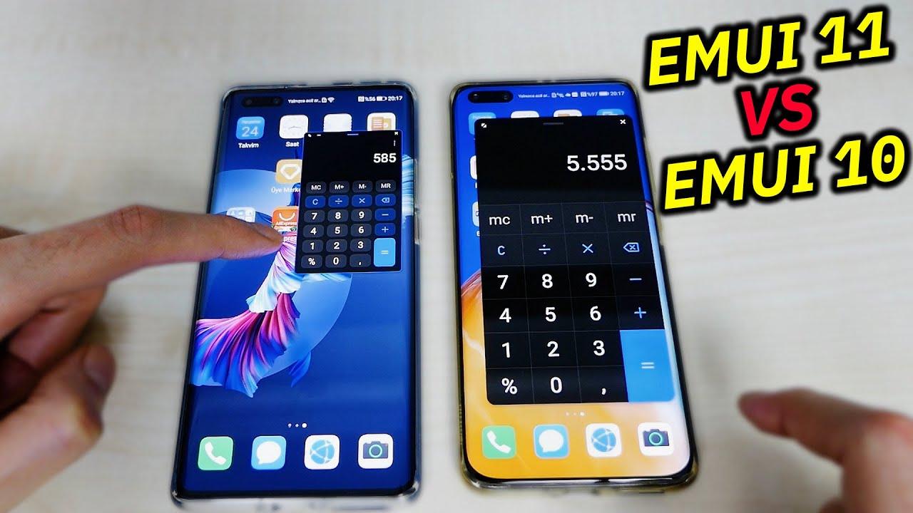 EMUI 11 vs EMUI 10 (HUAWEI MATE 40 PRO)