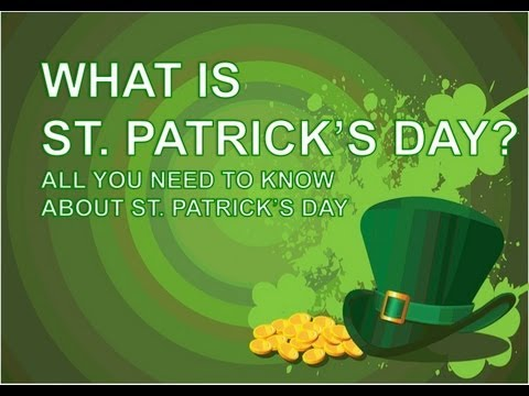 What is St. Patrick's Day? - YouTube
