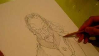 Drawing Dracula Part 1