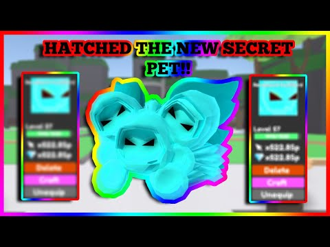 I HATCHED THE NEW TAPPING LEGENDS SECRET REVAMPED DEMILORD!! INSANE STATS! 😱 | ROBLOX
