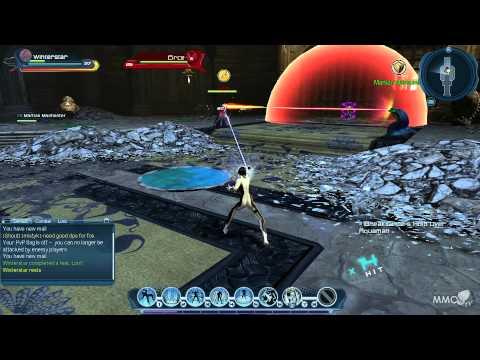 DC Universe Online Fighting Circe beside Manhunter (saving Aquaman) - MMO HD TV (1080p)