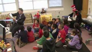 Dallas ISD students celebrate Dr. Seuss' birthday by reading
