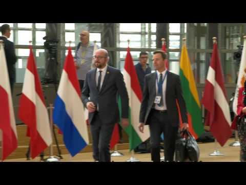 Best of arrivals at the European Council