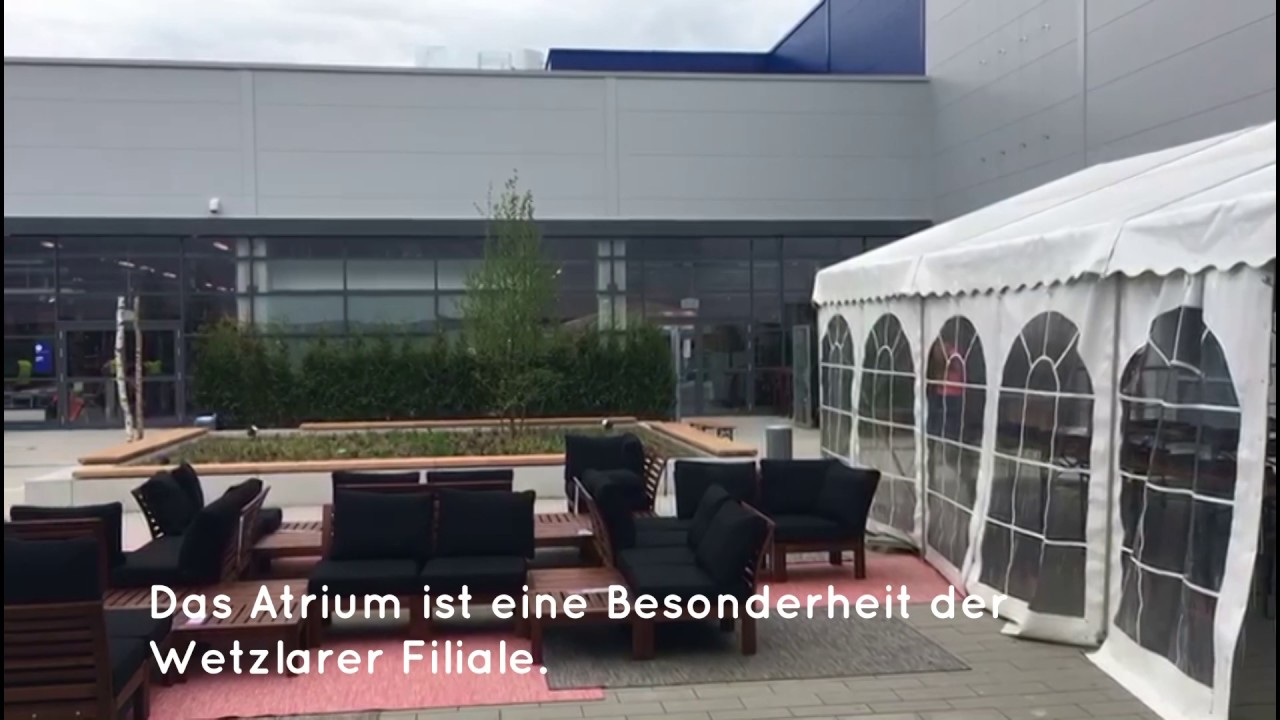 ikea wetzlar kurz vor der er ffnung youtube. Black Bedroom Furniture Sets. Home Design Ideas