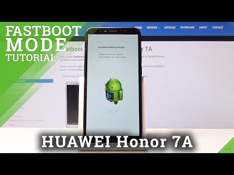 FASTBOOT Mode In HUAWEI Honor 7A – How To Open & Use Fastboot Features