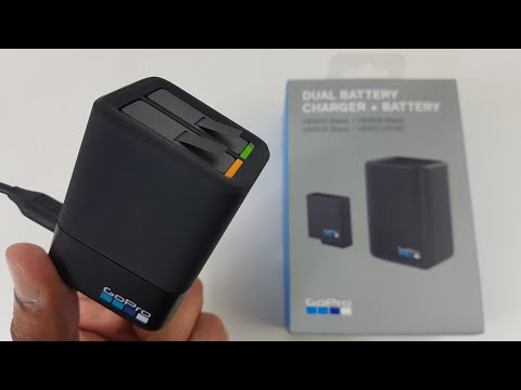 GoPro Dual Battery Charger Works with Hero 5, 6, 7 & 8 [Unboxing and Review]