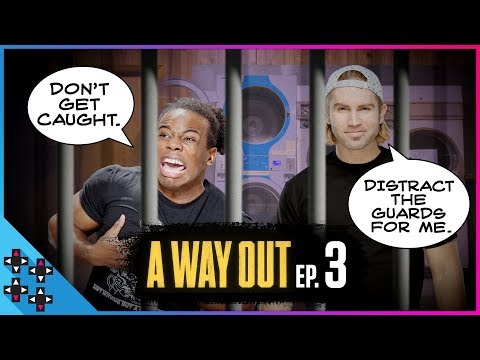 IT'S LAUNDRY TIME! A Way Out #3 - UpUpDownDown Plays
