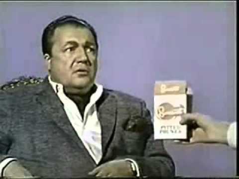 VINTAGE 1960s PRUNE COMMERCIAL - FINICKY PRUNE EATER: HATES WRINGLED PRUNES