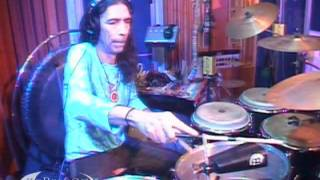 "Joe Claussell performing ""Mambo Mongo (Santamaria)"" on KCRW"