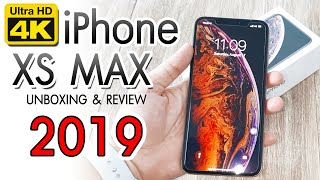 iPhone XS MAX GOLD UNBOXING Aug 2019  [ 4K ]