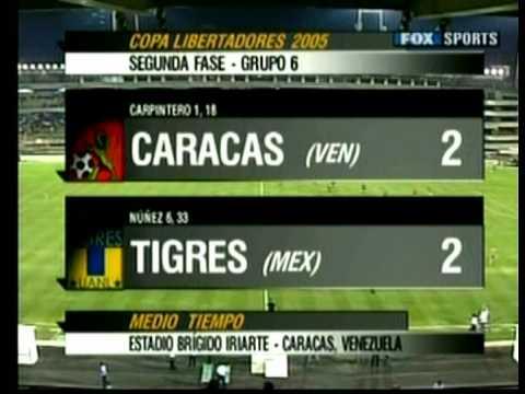 TIGRES VS CARACAS en Venezuela