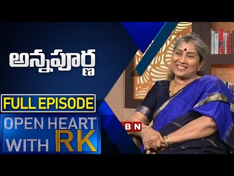 Senior Actress Annapoorna | Open Heart with RK  Full Episode | ABN Telugu