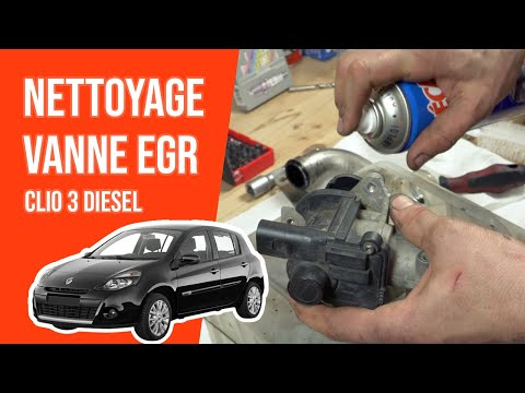 Nettoyer La Vanne Egr Clio 3 1 5 Dci Youtube