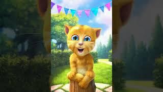 Gato Tom haciendo un video de Anna y Elsa y también de Mickey mouse quiere pelear