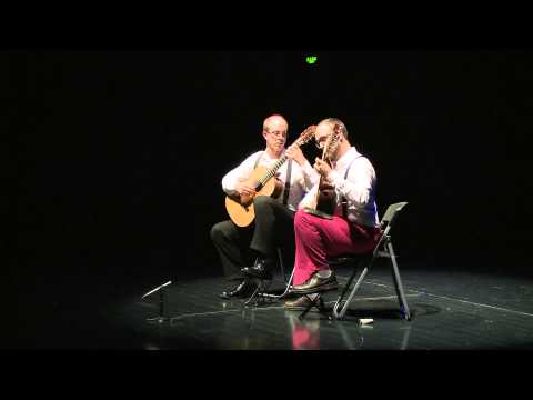 Athens Guitar Duo - Comme des grands (R. Dyens); Live in Guangzhou, China