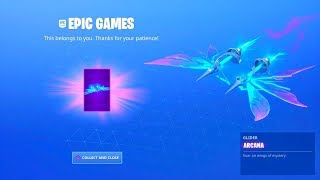 HOW TO UNLOCK FREE ARCANA GLIDER IN FORTNITE! NEW FREE ARCANA GLIDER REWARD! ARCANA NEW FREE GLIDER