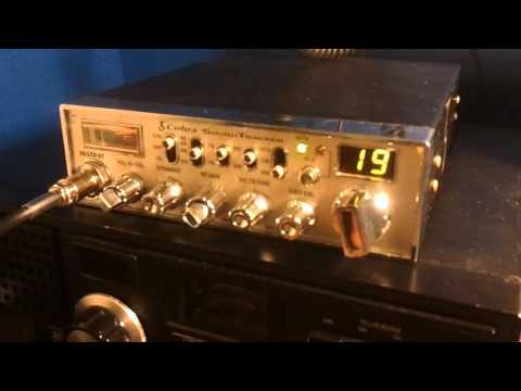 Cobra 29 LTD ST echo and talkback