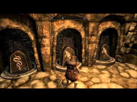 Skyrim: The golden claw STONE puzzle