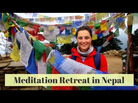 7 Day Meditation Retreat At Buddhist Monastery In Nepal