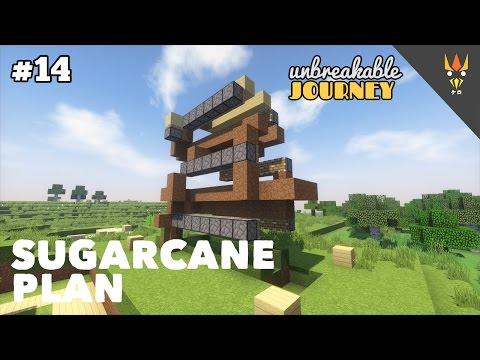 HYBRID SUGARCANE FARM! - Minecraft Indonesia #14