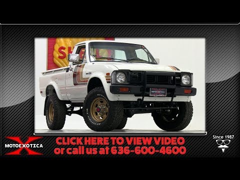 1981 Toyota 1/2-ton 4x4 Pickup || For Sale