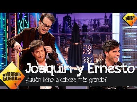 Medimos la cabeza de Ernesto Sevilla y Joaquín Reyes en El Hormiguero 3.0
