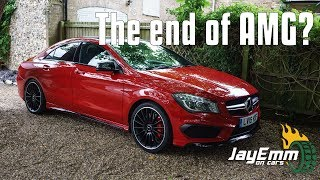 The Mercedes CLA45 AMG - Everything Wrong with Modern Cars?