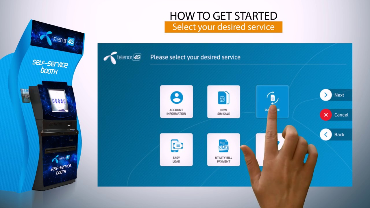 Telenor web self services