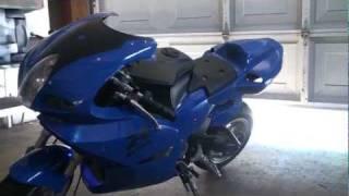 х15 супер кишеньковий велосипед повітря 110cc 4 ступенч.