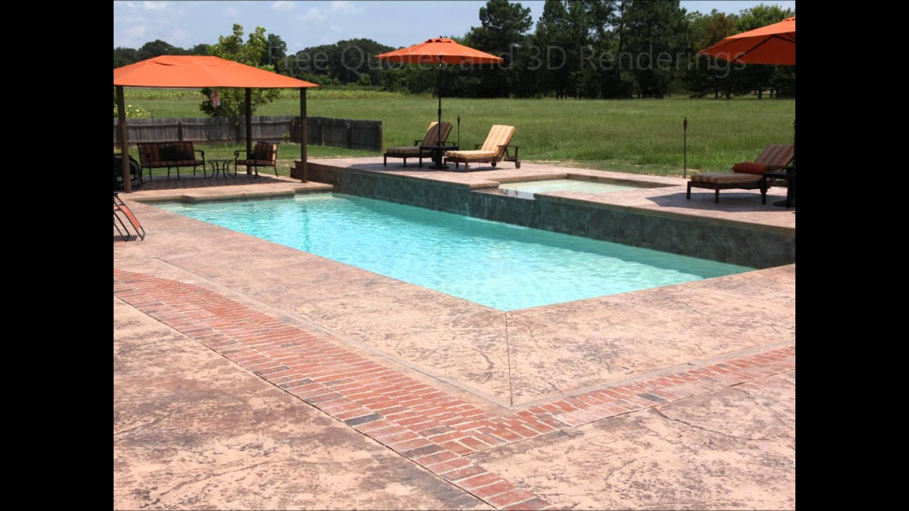 Fiberglass Saltwater Swimming Pool By Dolphin Pools Of West Monroe Youtube