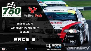 BMW Car Club Racing Championship - Oulton Park 2019 - Race 2