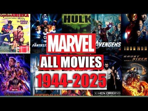 Download MARVEL MOVIES FROM 1944 TO 2025 || MOVIE LISTER || MCU #allmovies #movielister mcu