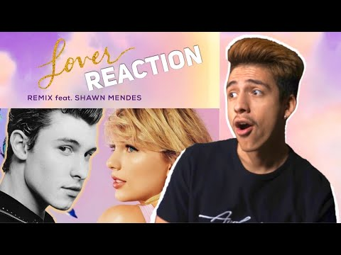 Download Lagu  TAYLOR SWIFT- LOVER REMIX FT SHAWN MENDES REACTION|E2 reacts Mp3 Free