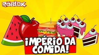 ¡IMPERIO DE ALIMENTOS! -ROBLOX (Food Tycoon)