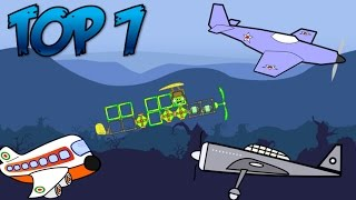 Top 7: Airplanes in Bad Piggies