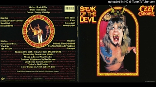 Ozzy Osbourne - Snowblind (Live Speak Of The Devil)