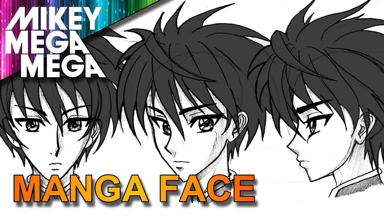 draw male manga anime