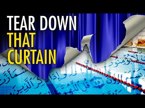 """Tear Down the Curtain"" on sharia pools in Australia"