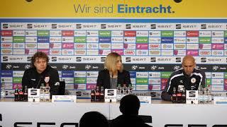 Pressekonferenz nach dem Spiel gegen Uerdingen