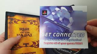 OPENING A SEALED PS2 GAME: RISE OF THE KASAI