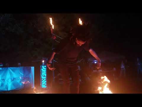 Tim Goddard: Equillibrium 2018: Fire Poi