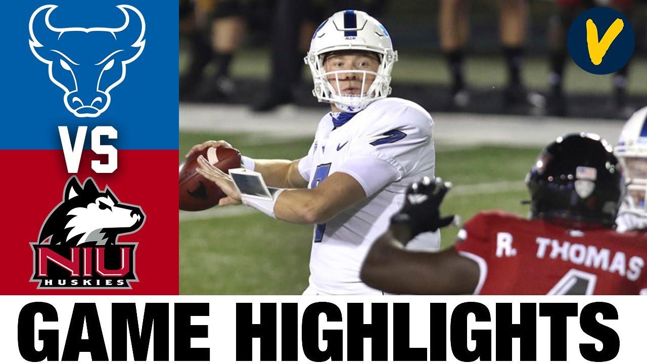 Buffalo Vs Northern Illinois Highlights Week 10 2020 College Football Highlights Youtube