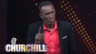Comedian YY on Churchill Show
