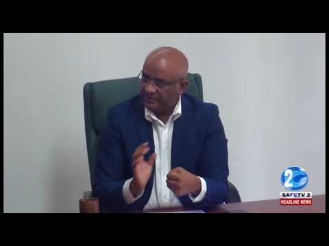 BHARRAT JAGDEO –GAS GENERATED ELECTRICITY TOO RISKY, HYDRO IS BETTER