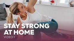 [VIDEO 1] STAY STRONG AT HOME, Workout von MOVE YA!, Kai Schwarz, Charly Knows Better & Janika Jäcke