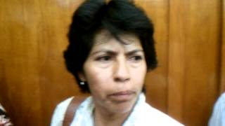 Ultra Noticias: Amparo Vargas; que renuncie el procurador