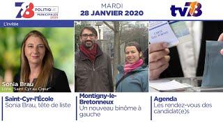 7/8 Politique. Edition du 28 janvier 2020